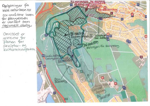 kart over ekebergsletta Galleri | Folkeaksjonen for bevaring av Ekebergskogen kart over ekebergsletta